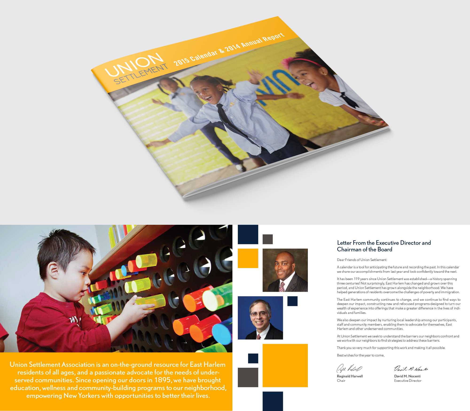 Union Settlement Annual Report images