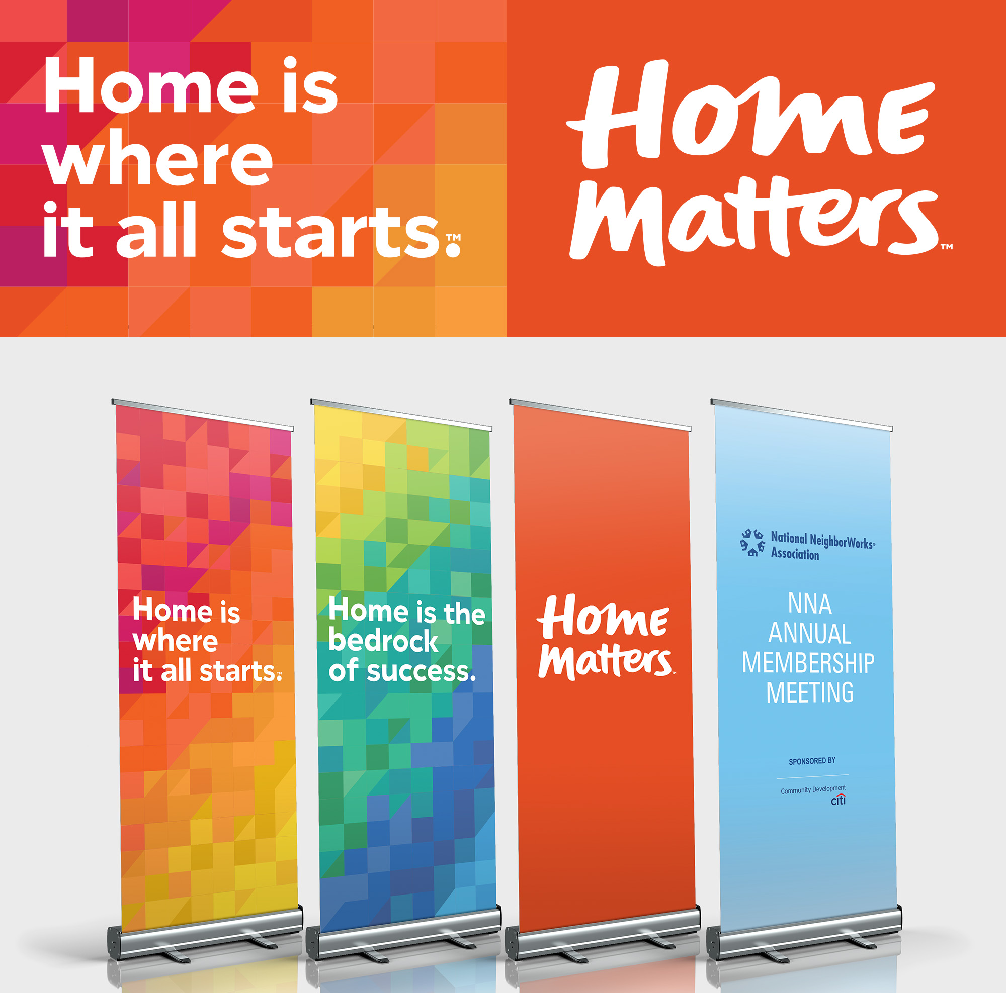 Home Matters banners