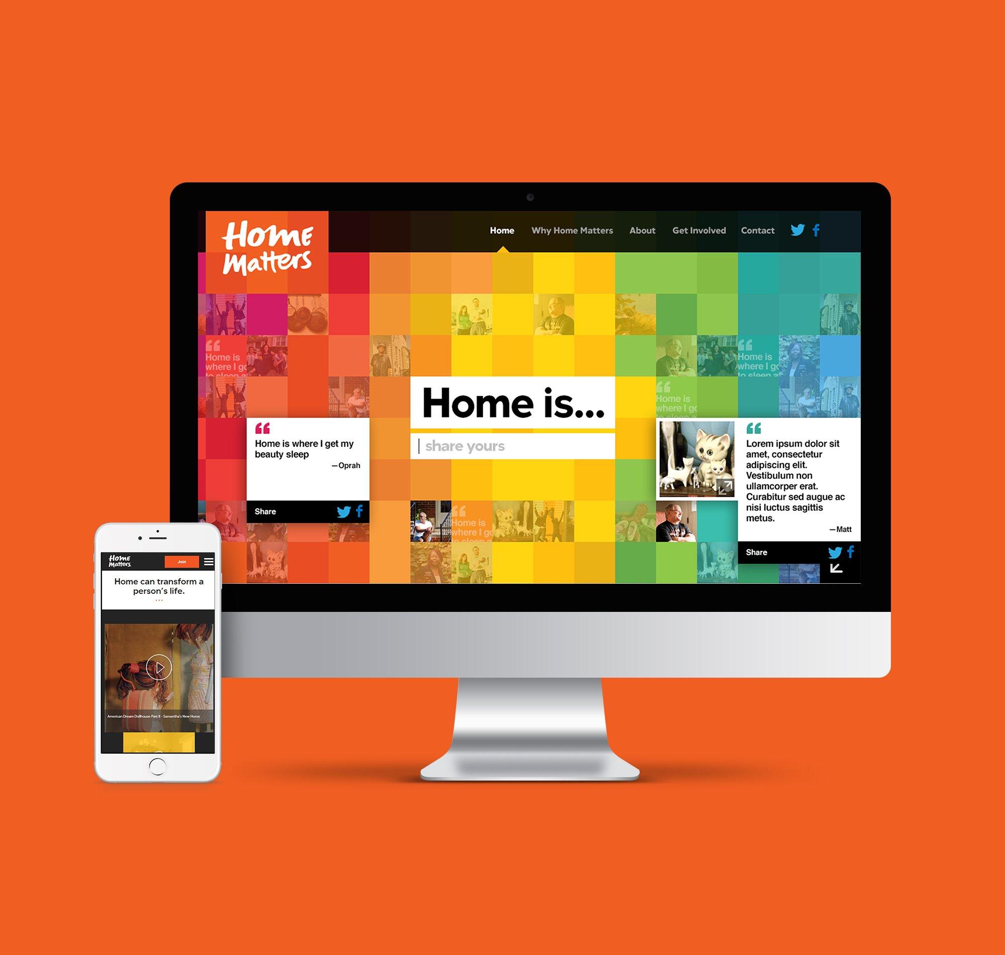 Home Matters website